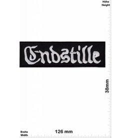 Endstille Endstille - silber - schwarz - Metal
