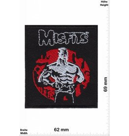 Misfit Misfits - red - silver