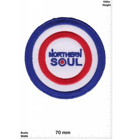Northerm Soul Northerm Soul - round - blue red