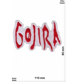 Gojira Gojira - white - red - Death-Metal-Band