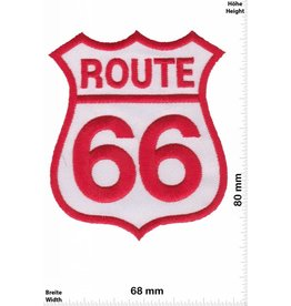 Route 66 Route 66 - red  white