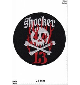 Lucky 13 Shocker 13 -   Skull - round