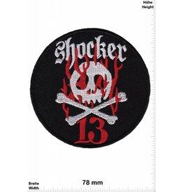 Lucky 13 Shocker 13 -   Skull - round