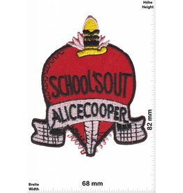 Alice Cooper Alice Cooper - School's Out - silver - Punk
