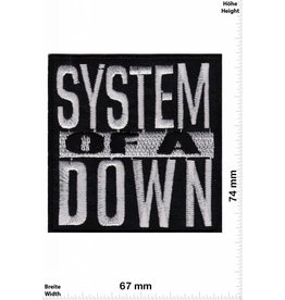 System of a Down System of a Down- silver- silber