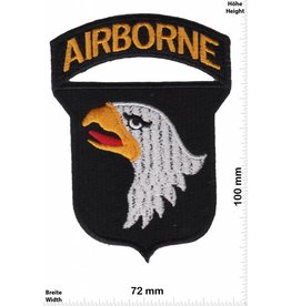 U.S. Air Force Airborne - United States Army Special Forces Command - Wappen und Schrift - HQ US Army