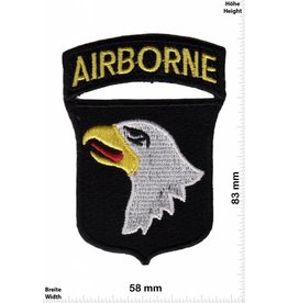 U.S. Air Force Airborne - United States Army Special Forces Command - Wappen und Schrift - US Army
