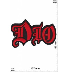 Dio DIO - red - rot - Heavy-Metal-Band