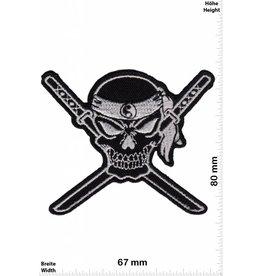 Nija Ninja -  Skull - black