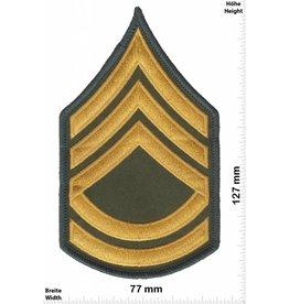 Sergant Sergeant First Class - 3 Streifen - gold - BIG