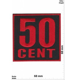 50 Cent 50 Cent - rot - Curtis James Jackson III