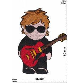 Gitarre Guitar Men - Man in Black