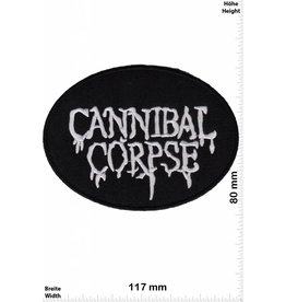 Cannibal Corpse Cannibal Corpse - oval - black