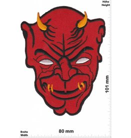 Teufel Red Devil head - Skull