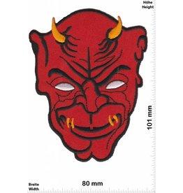 Teufel Roter Teufel - Kopf  - rot