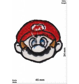 Super Mario Super Mario - Kopf - Head - Nintendo Patch