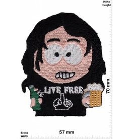 Live Free South Park Live Free - Punk Rockabilly Rocker