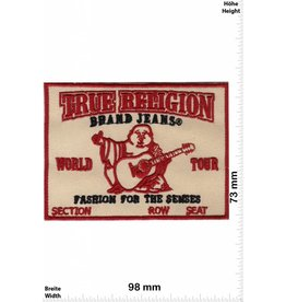 True Religion True Religion - Fashion for the Senses - Jeans small - red