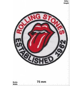 Rolling Stones Rolling Stones - Established 1962  - white