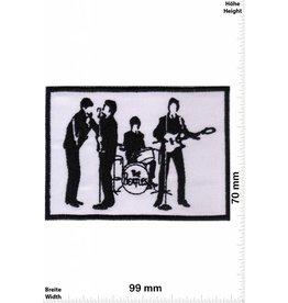 Beatles  The Beatles - Band - schwarz weiss