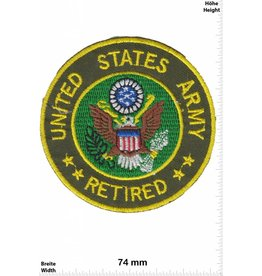 U.S. Navy United States Army - Retiered -  US Army