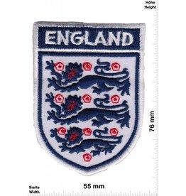 England, L'Angleterre, England Englische Fußballnationalmannschaft - weiss border - Soccer England UK - Fußball