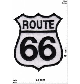 Route 66 Route 66 - schwarz weiss - schwarz weiss - Auto Motorcycle Biker Car Motorsport -