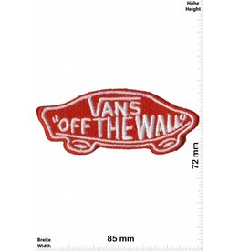 Vans Vans - Off the Wall - small - silver/red