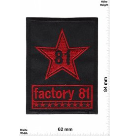 Factory 81 Factory 81  - stomp-paced meta -new school hardcore