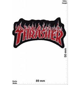 Thrasher Thrasher - red silver - rot silber- Skateboard - Skater - Wheels - Extremsport - Skater