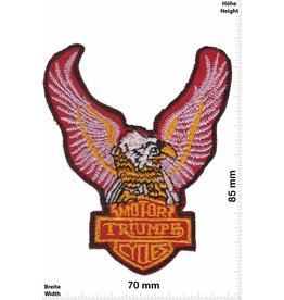 Triumph Triumph Motorcycles Adler - Eagle - red - rot - Biker -