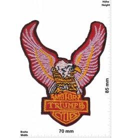 Triumph Triumph Motorcycles Adler - Eagle - rot - rot - Biker -