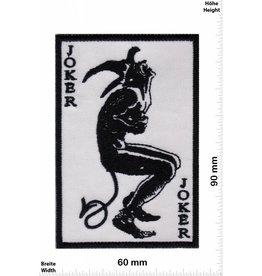 Joker Joker - schwarz weiss -  Fun Biker Motorcycle  Kutte -