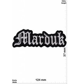 Marduk Marduk - black - silver  - Black-Metal-Band