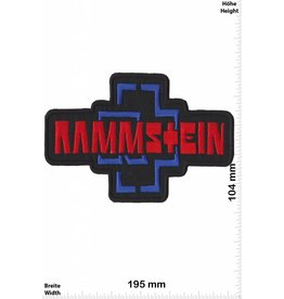 Rammstein Rammstein - big - 19 cm - red -blue