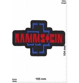 Rammstein Rammstein - big - 19 cm - rot -blau