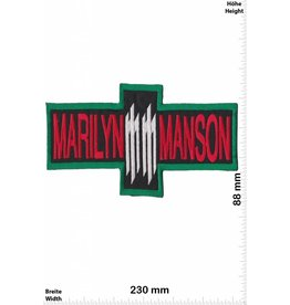 Marilyn Manson Marilyn Manson -big - 23 cm - red -blue