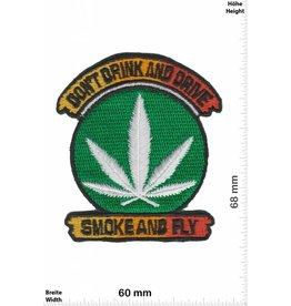 Marihuana, Marijuana Dont Drink and Drive - Smoke and fly - Marihuana - Dope