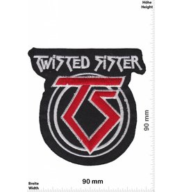 Twisted Sister  Twisted Sister - rot  rot  TS
