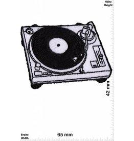 Oldschool Plattenspieler - DJ - LP  - turntable  - Oldschool Biker  - Rockabilly