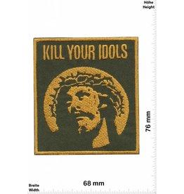 Jesus Kill your Idols - Jesus - Peace Oldschool - Rockabilly