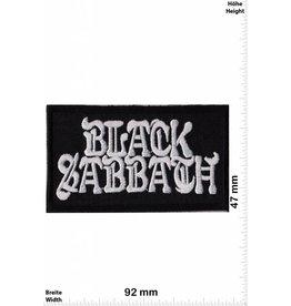 Black Sabbath Black Sabbath - schwarz silber - rechteck