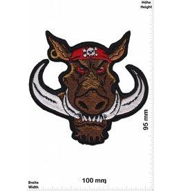 Pirat Pig - Wild Boar - Pirate - Sau