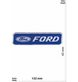 Ford Ford - silber blau- silber blau - big - rechteck - Motor Sport