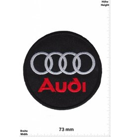 Audi Audi - red/silver  - round