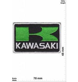 Kawasaki K - Kawasaki - schwarz grün - rechteck
