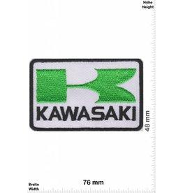 Kawasaki K - Kawasaki - weiss grün - rechteck