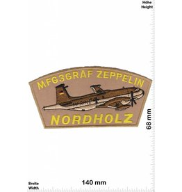 Army MFG3 Graf Zeppelin - Nordholz - BIG HQ 14 cm -  Military  Airplane - German Military