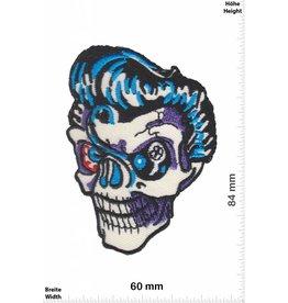 Totekopf  Rockabilly Skull - Totenkopf - Oldschool Biker  - Rockabilly