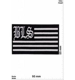 Black Label Society Black Label Society - silber Flag - BLS - rechteck